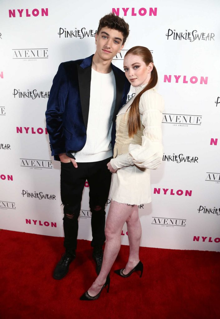 Larsen Thompson at 2018 Nylon Young Hollywood Party in Hollywood-2