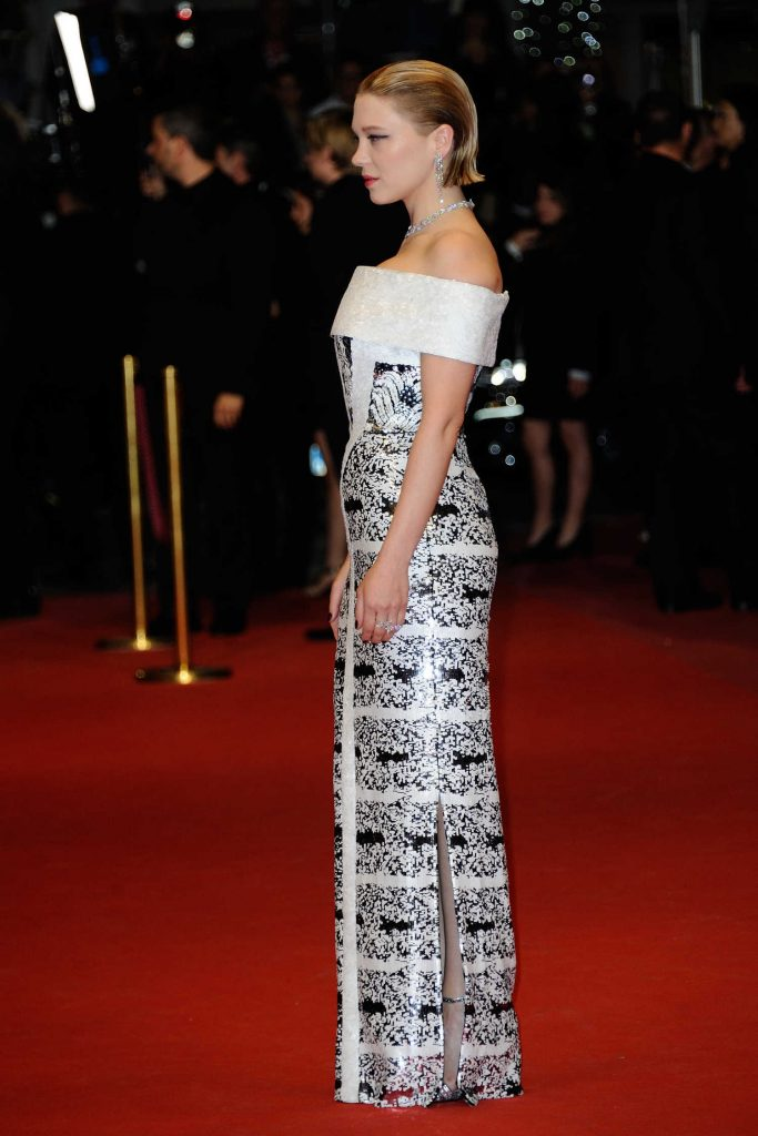 Lea Seydoux at Under the Silver Lake Screening During the 71st Cannes Film Festival in Cannes-4