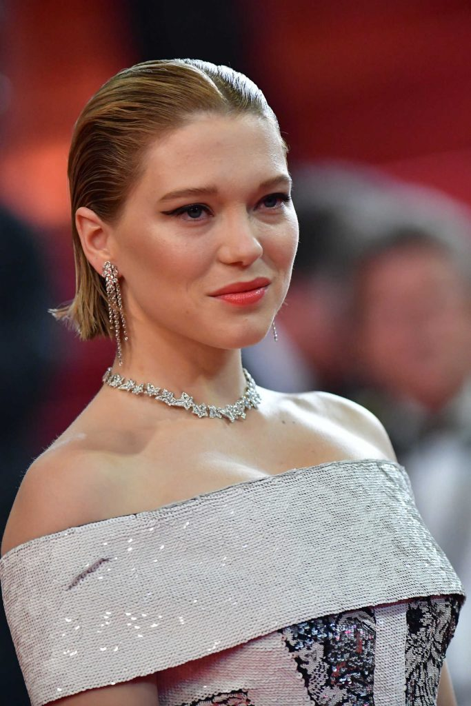 Lea Seydoux at Under the Silver Lake Screening During the 71st Cannes Film Festival in Cannes-5
