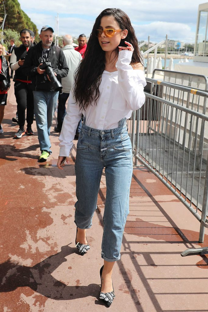 Lena Meyer-Landrut Was Seen Out in Cannes During the 71st Annual Cannes Film Festival-1