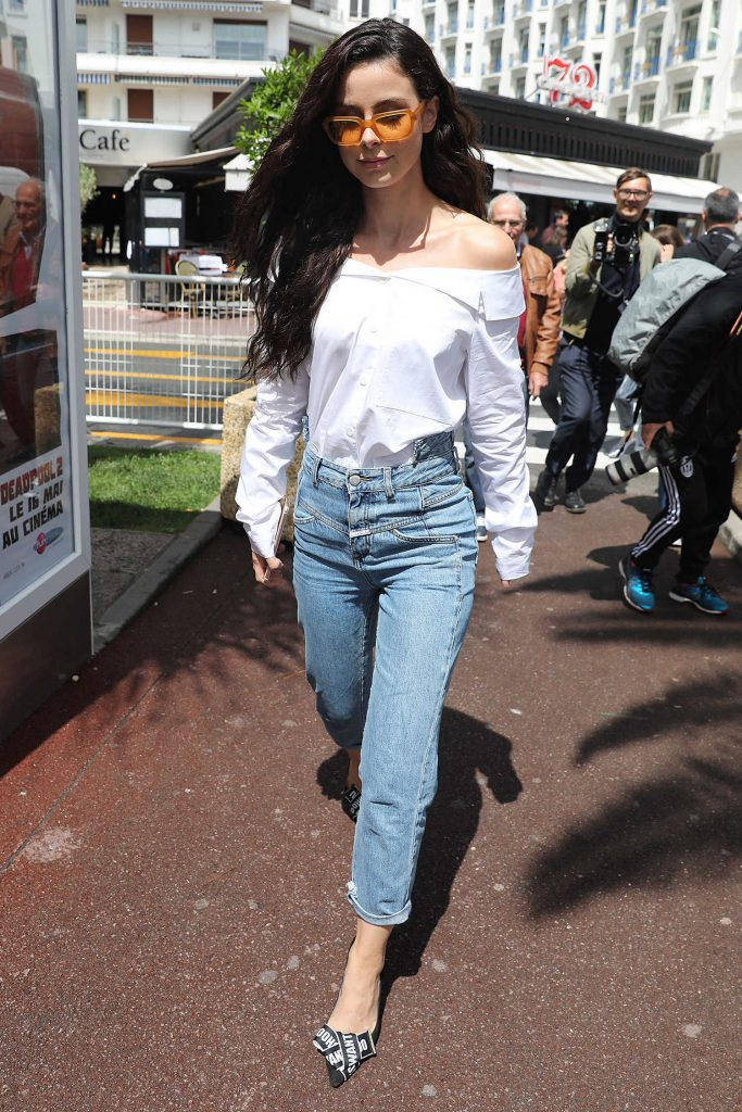 Lena Meyer-Landrut Was Seen Out in Cannes During the 71st Annual Cannes Film Festival-2