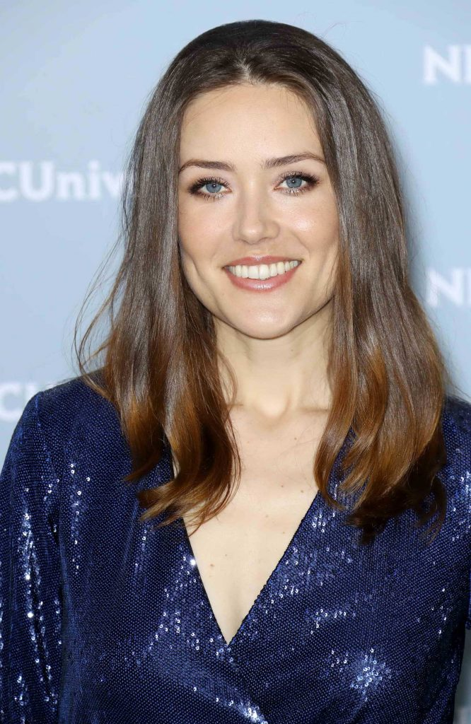 Megan Boone at NBCUniversal Upfront Presentation in New York City-4