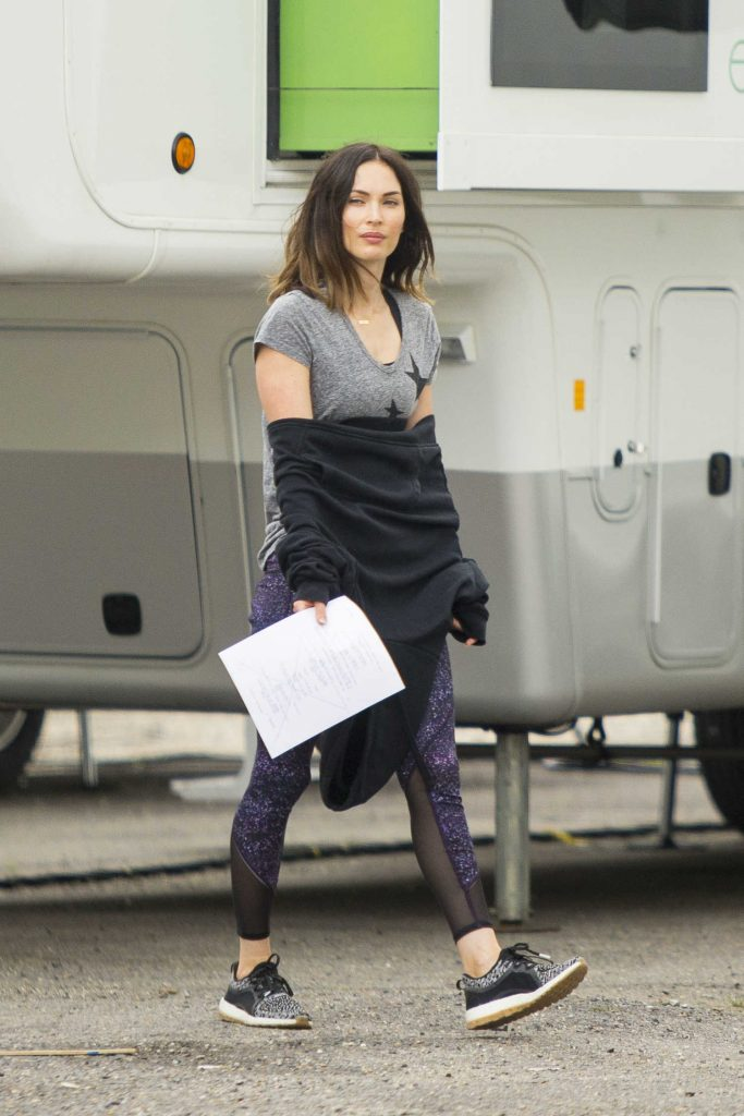 Megan Fox on the Set of Think Like A Dog in New Orleans-1