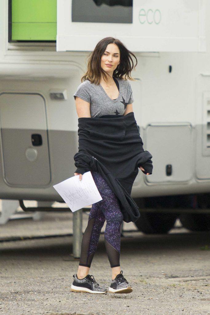 Megan Fox on the Set of Think Like A Dog in New Orleans-2