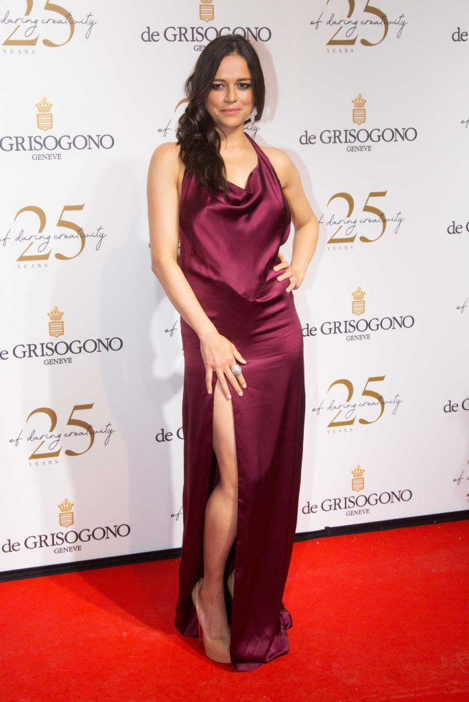 Michelle Rodriguez Attends the De Grisogono Party During the 71st Cannes Film Festival in Cannes-1