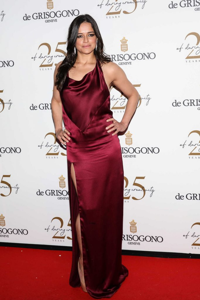 Michelle Rodriguez Attends the De Grisogono Party During the 71st Cannes Film Festival in Cannes-2