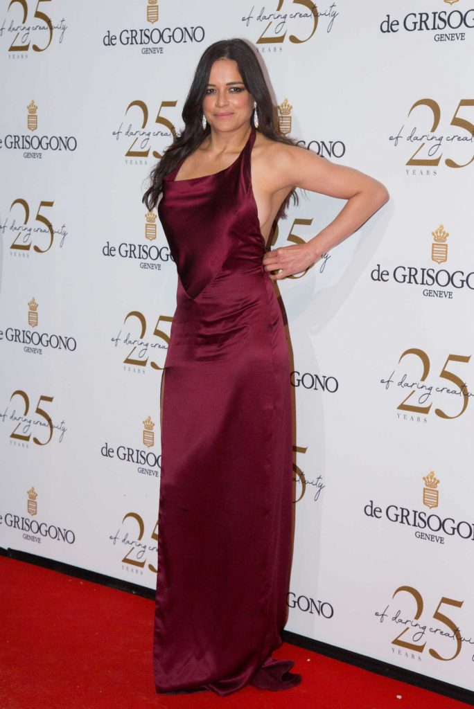 Michelle Rodriguez Attends the De Grisogono Party During the 71st Cannes Film Festival in Cannes-3