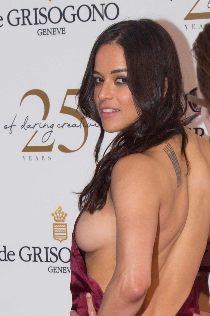 Michelle Rodriguez Attends the De Grisogono Party During the 71st Cannes Film Festival in Cannes-5