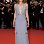Milla Jovovich at the Burning Premiere During the 71st Cannes Film Festival in Cannes