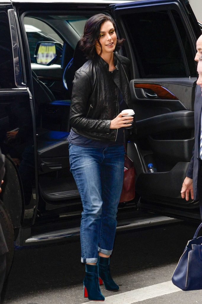 Morena Baccarin Was Seen Out in NY-2