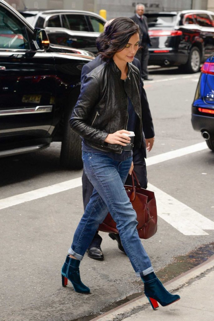 Morena Baccarin Was Seen Out in NY-3