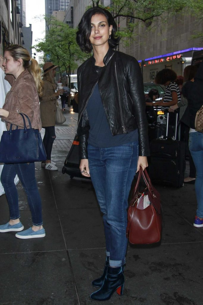 Morena Baccarin Was Seen Out in NY-4