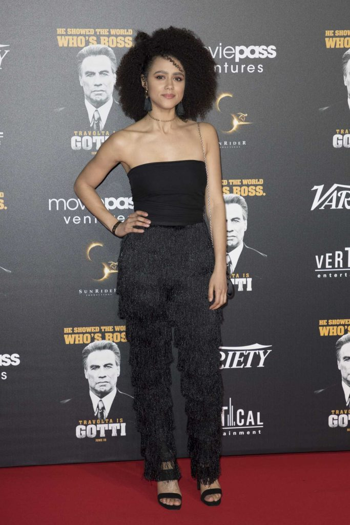 Nathalie Emmanuel at Gotti Premiere During the 71st Cannes Film Festival in Cannes-2