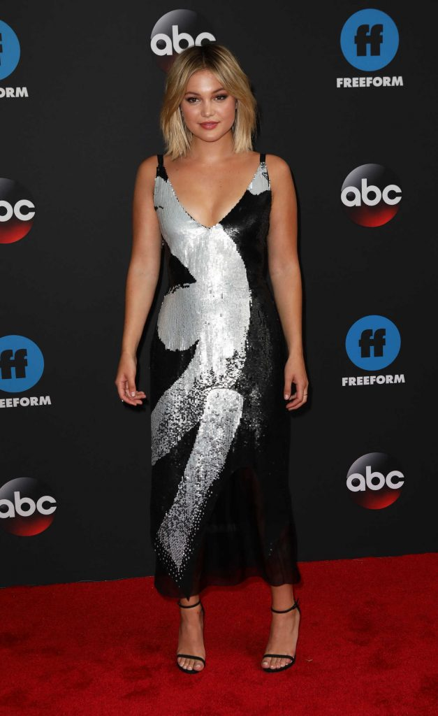 Olivia Holt at Disney ABC Upfront Presentation in New York City-1