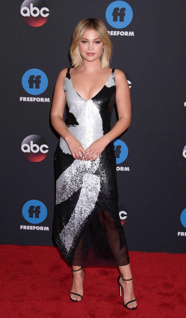 Olivia Holt at Disney ABC Upfront Presentation in New York City-2