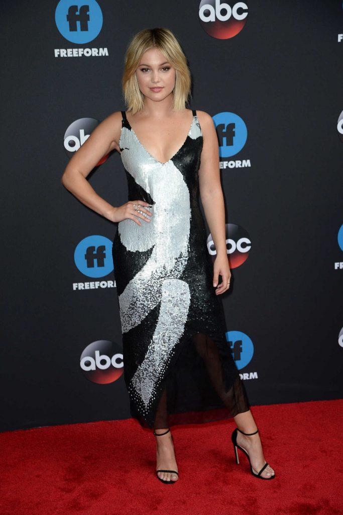Olivia Holt at Disney ABC Upfront Presentation in New York City-3