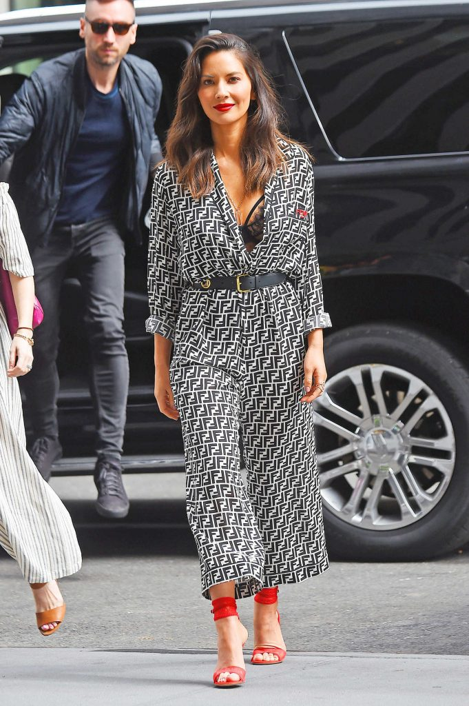 Olivia Munn Arrives at Good Morning America Show in New York City-4