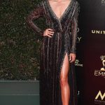Renee Bargh at the 45th Annual Daytime Emmy Awards in Los Angeles