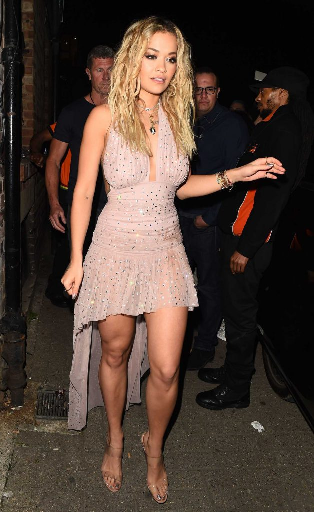 Rita Ora Arrives at the 02 Brixton Academy in London-1