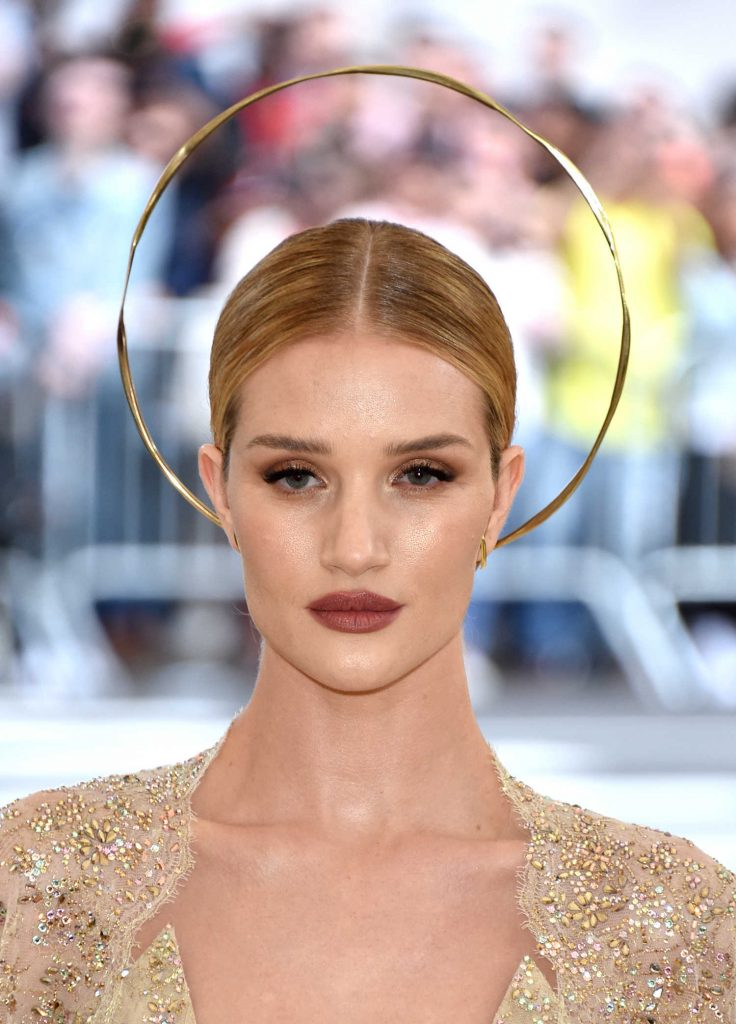 Rosie Huntington-Whiteley at 2018 Heavenly Bodies: Fashion and The Catholic Imagination Costume Institute Gala in New York City-5