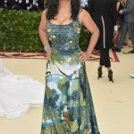Salma Hayek at 2018 Heavenly Bodies: Fashion and The Catholic Imagination Costume Institute Gala in New York City