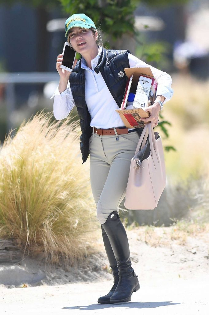 Selma Blair Goes Horseback Riding in LA-1