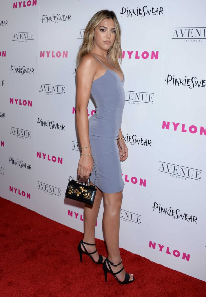 Sistine Stallone at 2018 Nylon Young Hollywood Party in Hollywood-2