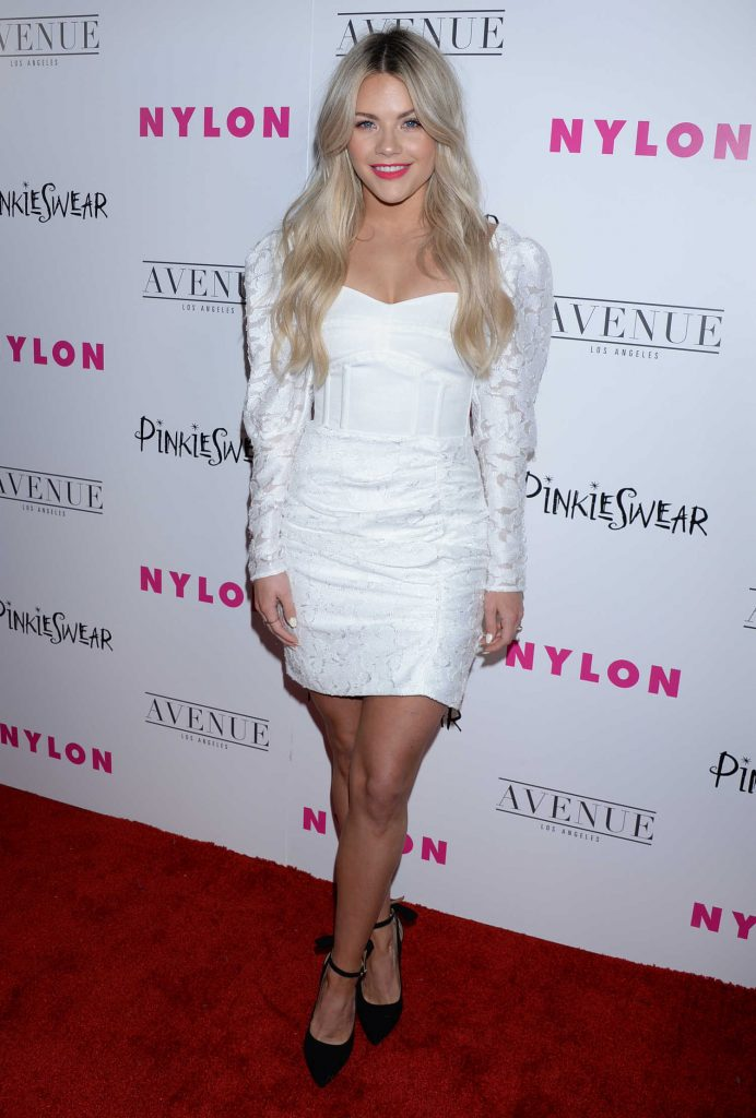 Witney Carson at 2018 Nylon Young Hollywood Party in Hollywood-2