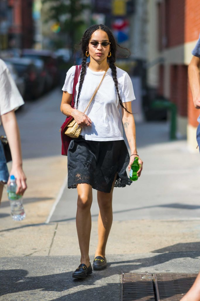 Zoe Kravitz Was Spotted Out in New York City-1