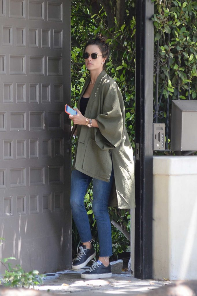 Alessandra Ambrosio Looking Cool Out in Los Angeles-1