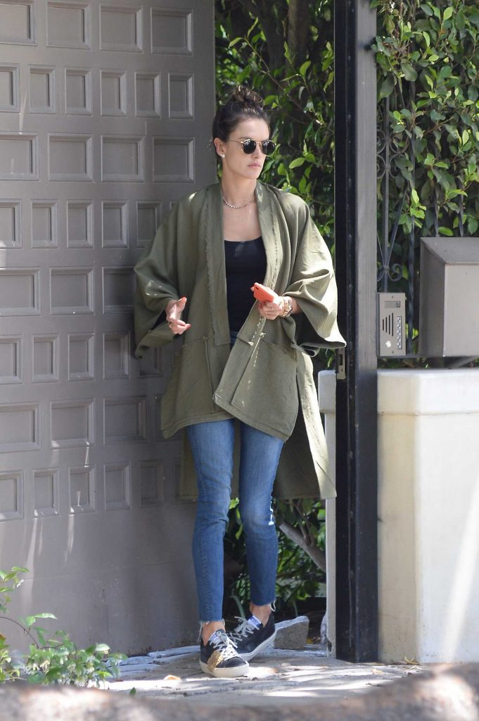 Alessandra Ambrosio Looking Cool Out in Los Angeles-2