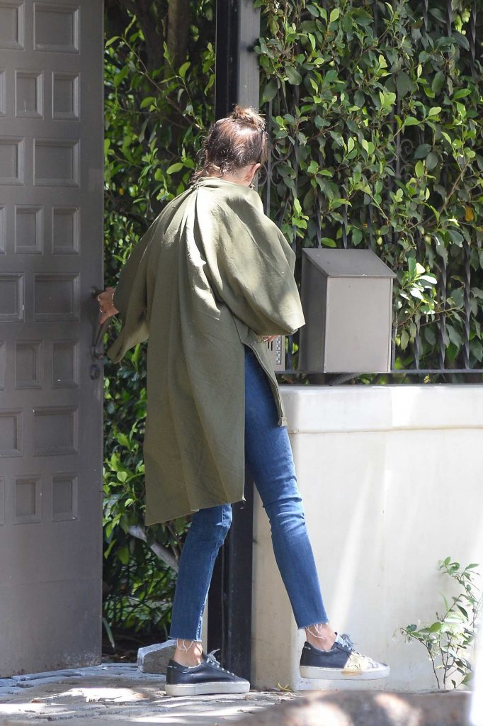 Alessandra Ambrosio Looking Cool Out in Los Angeles-3