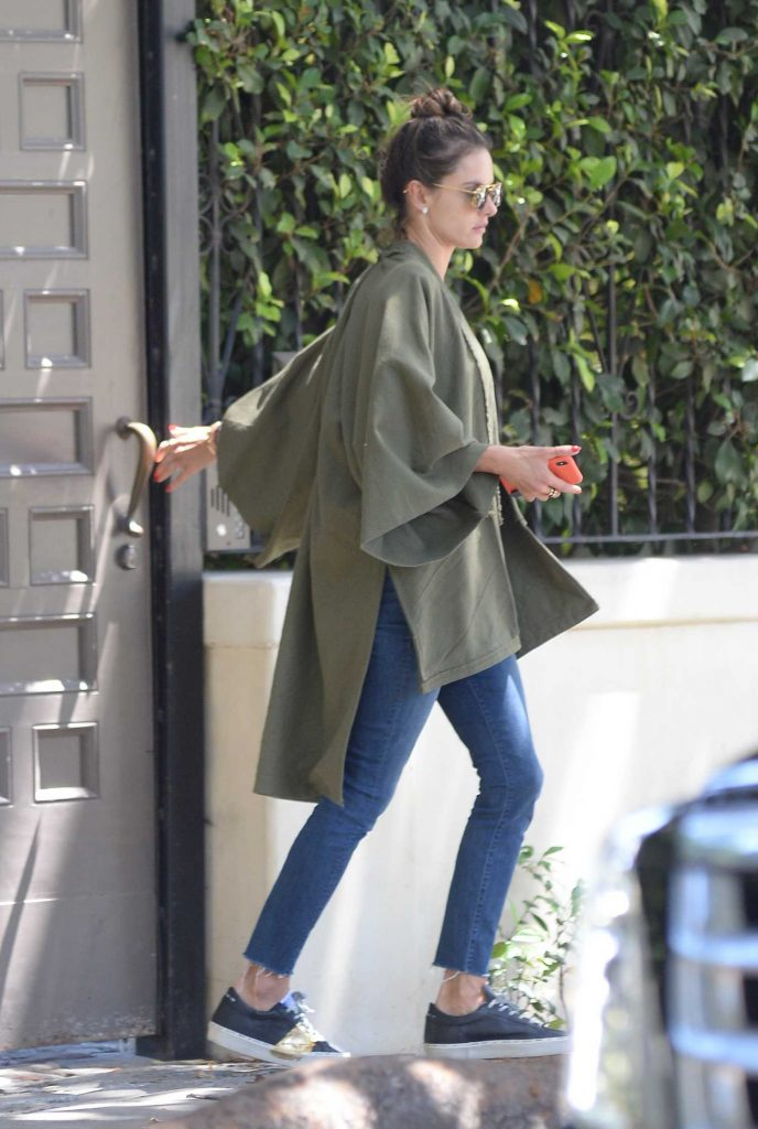 Alessandra Ambrosio Looking Cool Out in Los Angeles-5