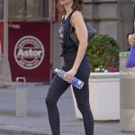 Alison Brie Heads to a Workout Session in SoHo, New York City