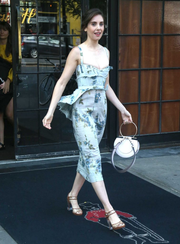 Alison Brie Leaves the Bowery Hotel in New York City-3