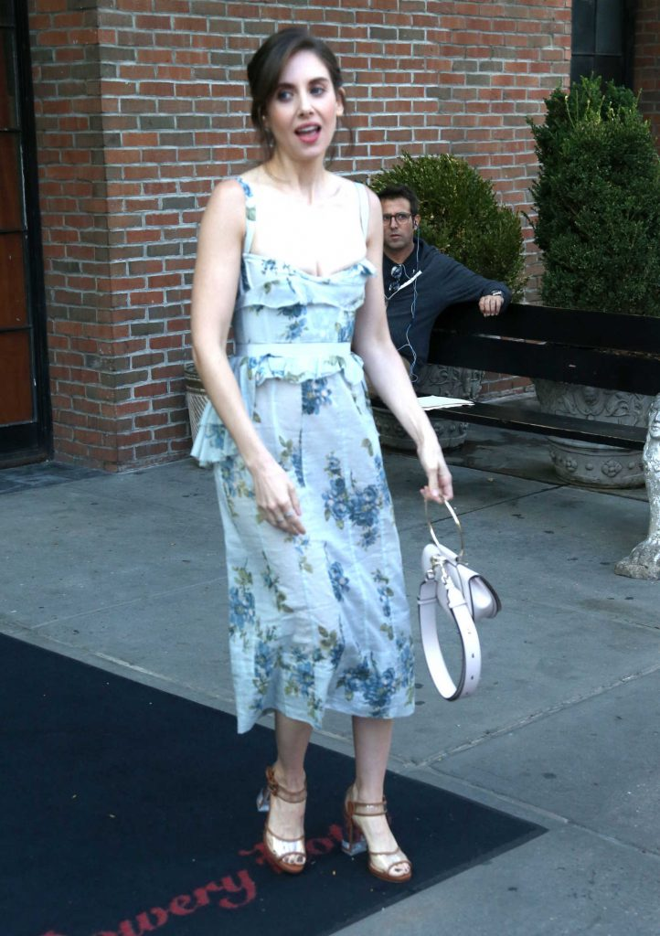 Alison Brie Leaves the Bowery Hotel in New York City-4
