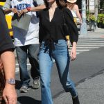 Alison Brie Steps Out in New York