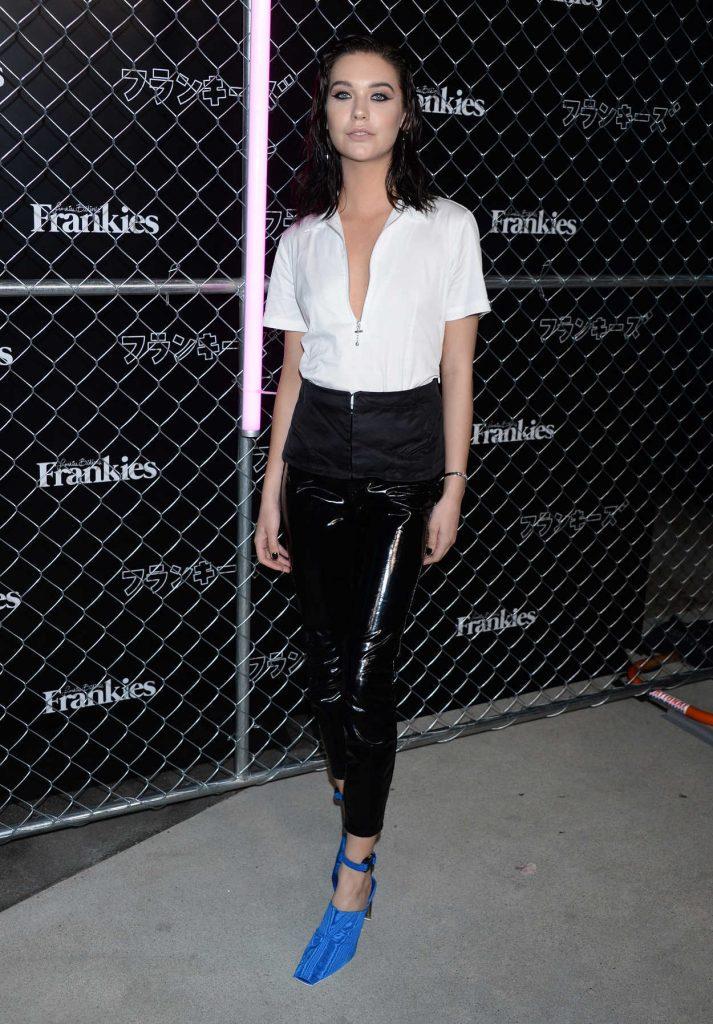 Amanda Steele at Frankies Bikinis Fashion Show in LA-2