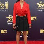 Amandla Stenberg Attends the 2018 MTV Movie and TV Awards in Santa Monica