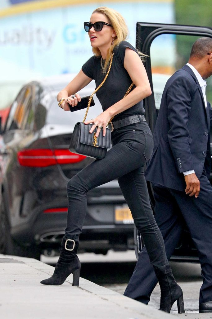 Amber Heard Was Seen Out in NYC-1