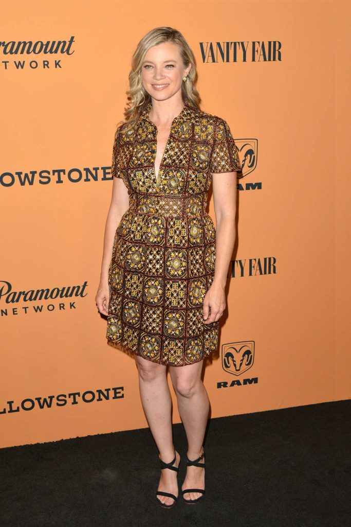 Amy Smart at Yellowstone TV Show Premiere in Los Angeles-2