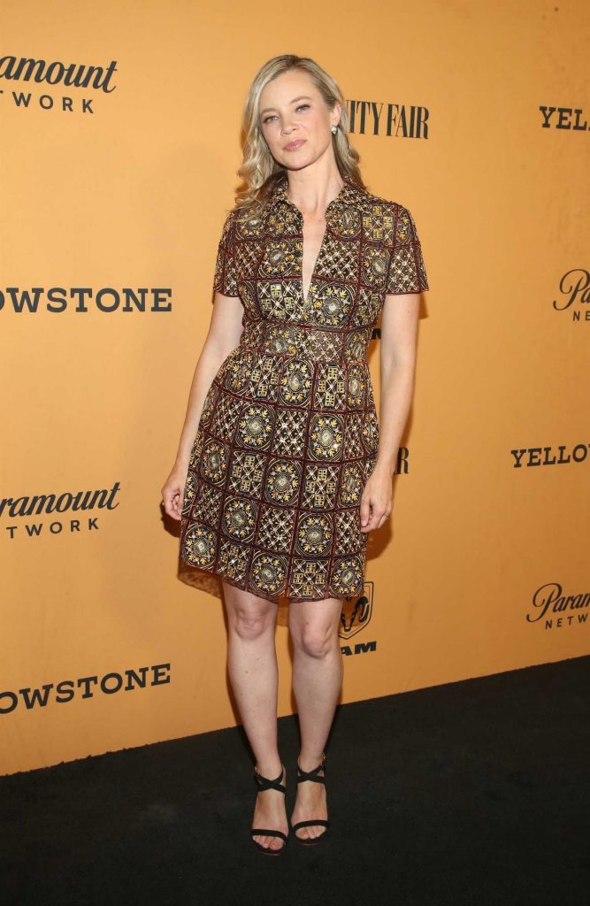 Amy Smart at Yellowstone TV Show Premiere in Los Angeles-3