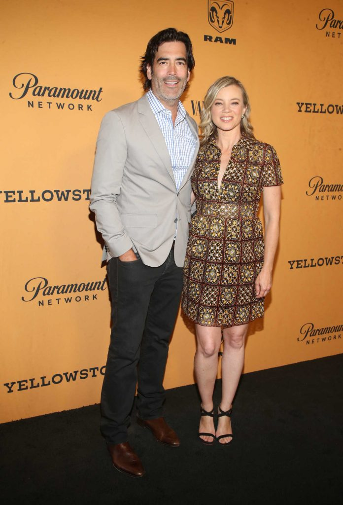 Amy Smart at Yellowstone TV Show Premiere in Los Angeles-4