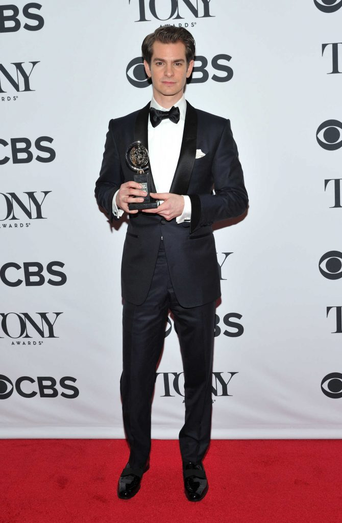 Andrew Garfield at the 72nd Annual Tony Awards in New York City-1