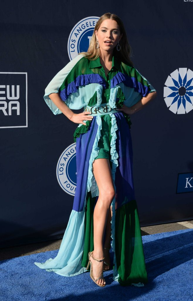 Anne Winters at the 4th Annual Los Angeles Dodgers Foundation Blue Diamond Gala-2