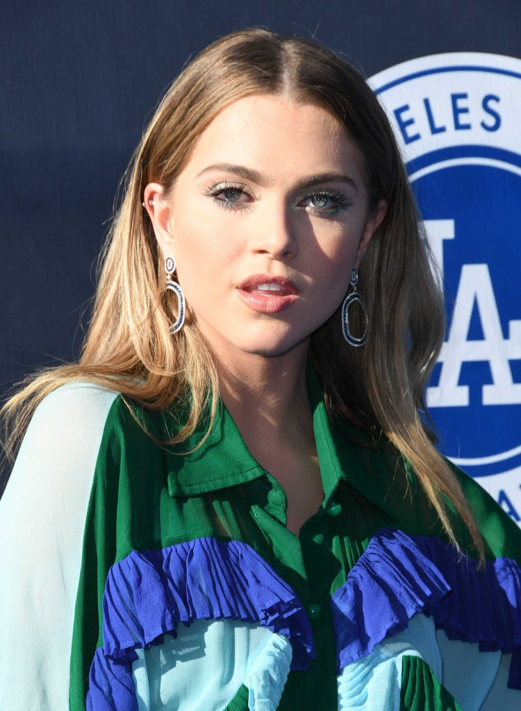 Anne Winters at the 4th Annual Los Angeles Dodgers Foundation Blue Diamond Gala-5