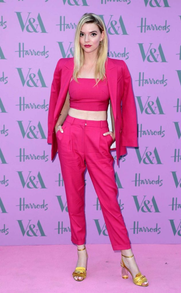 Anya Taylor-Joy at The Victoria and Albert Museum Summer Party in London-1