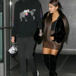Ariana Grande Leaves Her Apartment in New York