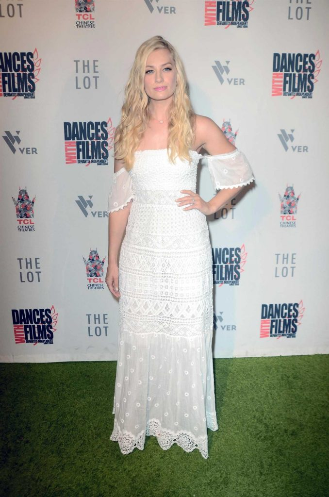 Beth Behrs at Antiquities Premiere in Los Angeles-1