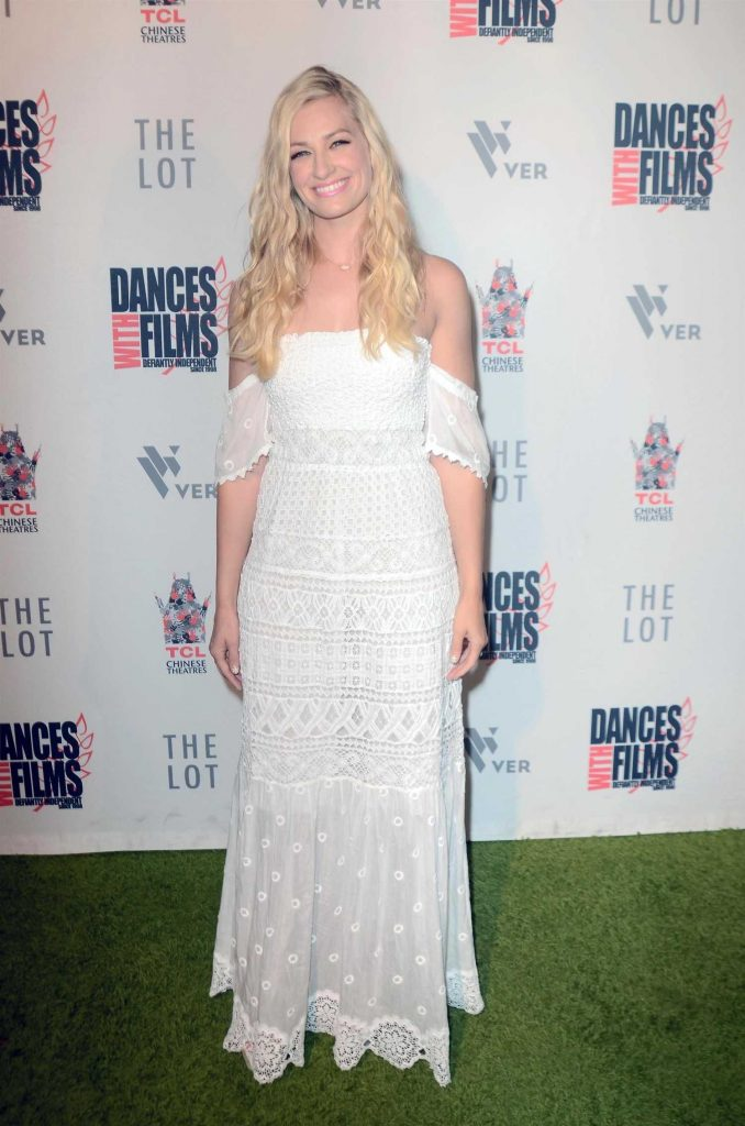 Beth Behrs at Antiquities Premiere in Los Angeles-2